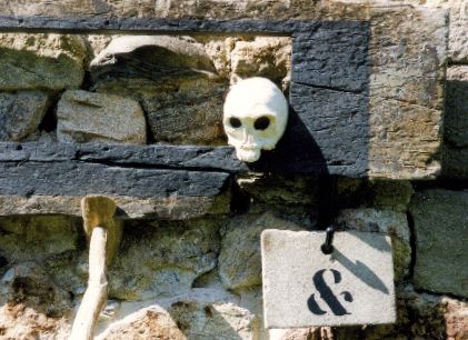 Didier Stéphant, installation, 2000.