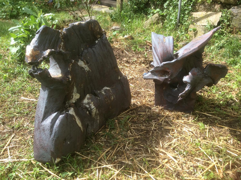 """Luc Rouault, """"Sculpture céramique"""", 2018."""