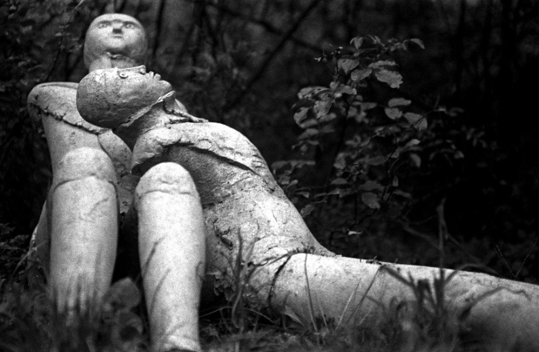 Eve Morcrette, sculpture de Martine Diersé, 2011.