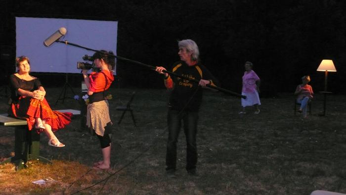 """Yvon Davis, metteur en scène, """"En avant la musique !"""", création, 2009."""